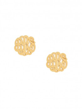 monogrammed-earrings