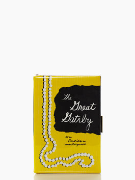 The Great Gatsby Book Clutch